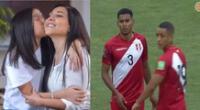Tula Rodríguez apoya a la selección peruana de fútbol.