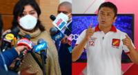 Betssy Chávez se reunió con congresistas de Perú Libre