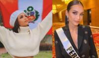 Janick Maceta se despide de la corona del Miss Perú 2021.