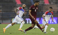 Venezuela le ganó 2-1 a Chile en  Caracas en el partido de ida de las clasificatorias a Qatar 2022.