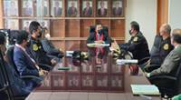 Presidente de la Corte de Lambayeque, Juan Riquelme Guillermo Piscoya acuerda acabar con los índices de criminalidad en Chiclayo