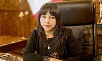 Mirtha Vásquez se pronunció luego del comunicado de Perú Libre anunciando que no le darían el voto de confianza
