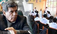 Hernando Cevallos indicó que se tiene que ajustar los protocolos para el regreso a clases de los menores de 12 años