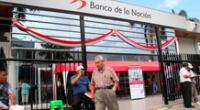 Cronograma de pagos a pensionistas del sector público por el Banco de la Nación.