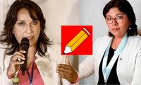 Dina Boluarte y Betssy Chávez salieron a responder ante los cuestionamientos de Perú Libre