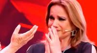 Ángela Caballero hace llorar a Lucía Galán de Pimpinela al cantarle una canción.