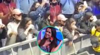 Instarandula evidenció a Vanessa Terkes bailando muy pegada a su amiga, así como dándole besos a los integrantes de la seguridad del show.