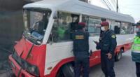 Chofer del vehículo recorría las calles sin importale la vida de sus pasajeros.
