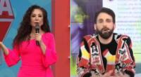 Rodrigo González felicita a Janet por encarar a Melissa Paredes: