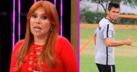 Magaly Medina reveló que Rodrigo Cuba estuvo entrenando en el mismo gym del ampay.