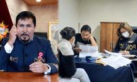 Elmer Cáceres Llica fue intervenido por las autoridades policiales