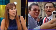 Magaly Medina critica respuesta de presidente de la República sobre Richard Swing.