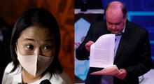 Rafael López Aliga respalda a Keiko Fujimori