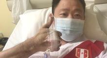 Kenji Fujimori dice estar recuperándose del COVID-19 a través de un mensaje en Twitter.