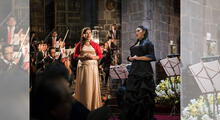 Gladis Huamán, la cantante que interpretó en himno nacional en cinco lenguas originarias del Perú.