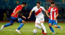 Santiago Ormeño, delantero de la selección peruana, llamó la atención en las redes sociales.