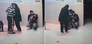Médico salva a niña de asfixiarse y padres le agradecen con emotiva reacción [VIDEO]