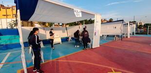 La Victoria: instalan mesas de sufragio en el parque El Migrante para las Elecciones 2021