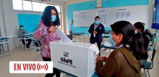 Elecciones 2021: así se viene desarrollando la jornada electoral en el Perú