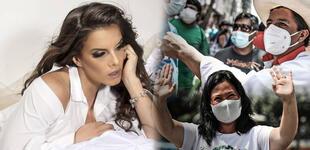 Alejandra Baigorria no pudo dormir tras el flash electoral [FOTO]
