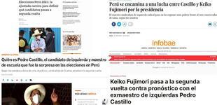 Elecciones 2021: Esto dicen los medios internacionales sobre quiénes podrían disputar una segunda vuelta