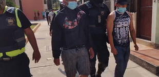 Surco: detienen a sujetos que iban a robar a hincha de universitario
