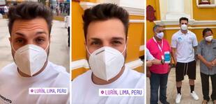 Nicola Porcella con la Teletón ayudó a reunir fondos para la primera planta de oxígeno en Lurín