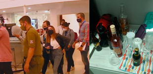 Más de 29 personas fueron detenidas durante fiesta clandestina en laboratorio de test COVID-19