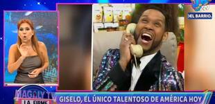 """Magaly Medina sobre 'Giselo' en 'América Hoy': """"El único talento que existe en ese programa"""" [VIDEO]"""