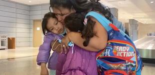 """Madre deportada abrazó a sus hijas después de estar un año separadas: """"Estaba desesperada"""""""