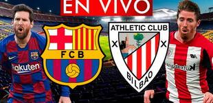 Barcelona vs Athletic Bilbao: canal TV EN VIVO y horario para ver final de Copa del Rey 2021