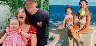 """Korina Rivadeneira sorprendida con el rápido crecimiento de su hija: """"Está muy grandota"""""""