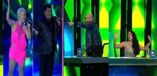 """Ana Kohler y Makuko Gallardo pusieron a bailar a Ángel López en Yo Soy: """"Así se tenía que empezar"""""""