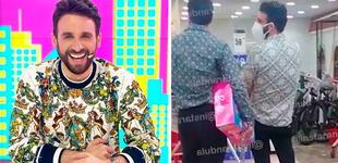Rodrigo González es captado haciendo compras con misteriosa compañía [VIDEO]