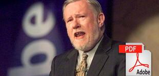 Charles Geschke, cofundador de Adobe y desarrollador archivos PDF, muere a los 81 años