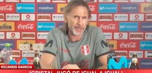 """Ricardo Gareca tras goleada de Sao Paulo a Cristal: """"No merecían perder, fue parejo"""""""