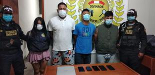 Trujillo: en persecución capturan a banda de raqueteros