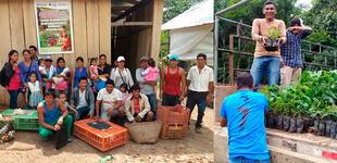 Loreto: Cáritas implementa medidas de adaptación y mitigación al cambio climático para 1,116 familias