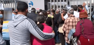 Vacunación COVID-19: reportan caos y aglomeración de adultos mayores en Chorrillos