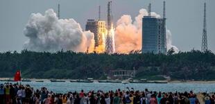 Cohete chino descontrolado: expertos revelan que sucederán más caídas de vehículos espaciales