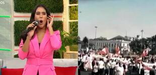 """Melissa Paredes critica aglomeración en mítines de campaña: """"Se tocan, bailan y comparten trago"""""""