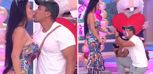Paola Ruíz: Su pareja Ángel le pidió matrimonio en vivo con tiernas palabras [VIDEO]