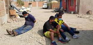 """Huachipa: cae banda criminal """"Los Chacreros de Carapongo"""" vinculados al robo de vehículos"""