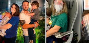 Yiddá Eslava y Julián Zucchi se van de vacaciones por primera vez con sus hijos [VIDEO]