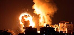 Bombardeo israelí deja 20 palestinos muertos en Gaza, entre ellos 9 niños
