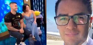 """Andrea San Martín a su expareja Juan Víctor: """"Si algo le molesta, puede hablarlo con nosotros"""""""