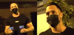 """Fabio Agostini le dio agua a reporteros de Magaly TV en la madrugada: """"Para que no tengan sed"""""""