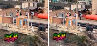 Ingenieros paralizan obra de construcción en SJL para ¡hacer el baile de Explosión Iquitos!
