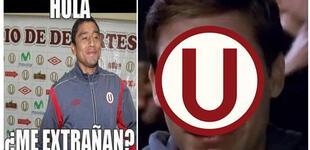 Universitario ganaba a Defensa y Justicia, pero le empataron 1-1 y los memes aparecieron