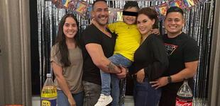 """Génesis Tapia celebra cumpleaños de su hijo con su expareja y su novia: """"Mi familia ensamblada"""""""